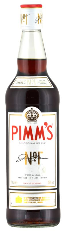 Personalised Pimms no 1 Liqueur 70cl engraved bottle