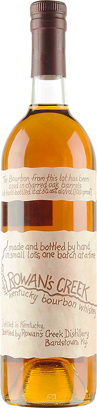 Personalised Rowan's Creek Whisky 70cl engraved bottle