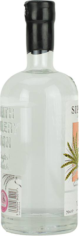 Personalised Sipsmith Sipping Vodka 70cl engraved bottle