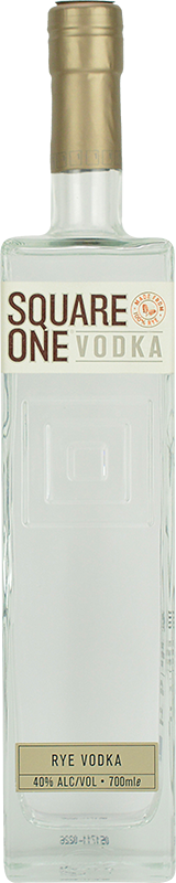 Personalised Square One Vodka 70cl engraved bottle