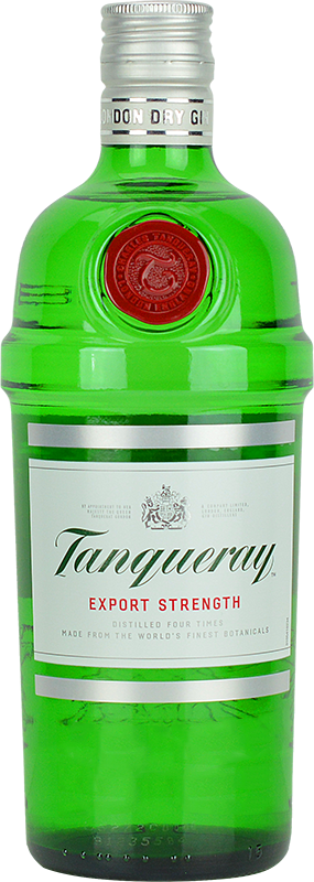 Personalised Tanqueray Gin 70cl engraved bottle