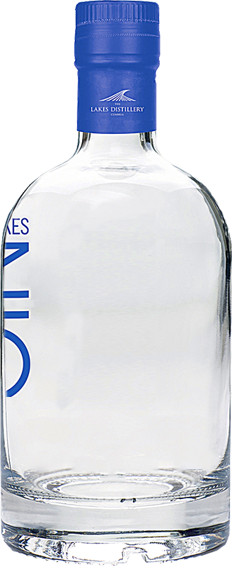 Personalised The Lakes Gin 70cl engraved bottle